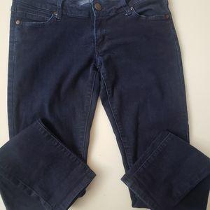 Barbell Apparel dark wash skinny jeans size 29